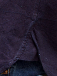 Indigofera Holden Shirt Indigo Canvas