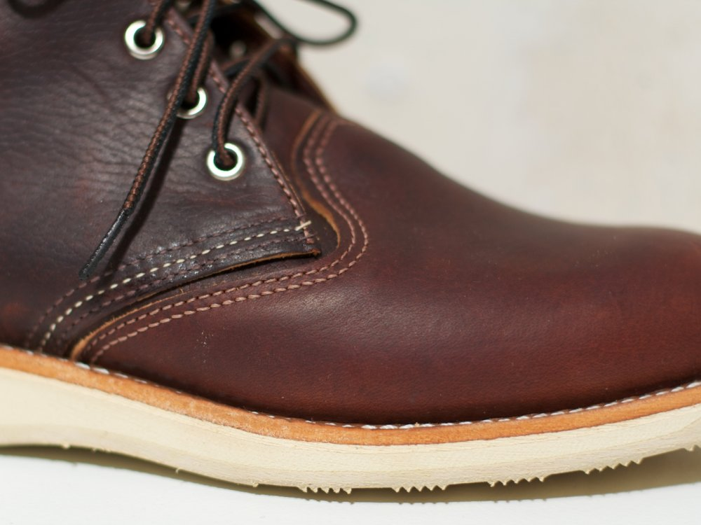 Red Wing Work Chukka Briar Oil Slick Leather
