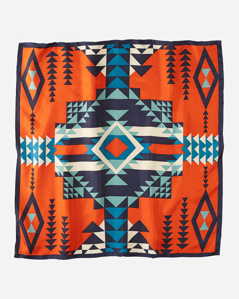 Pendleton Silk Scarf Red Pilot Rock