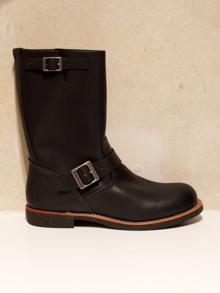 Red Wing Engineer Boot Black Harness