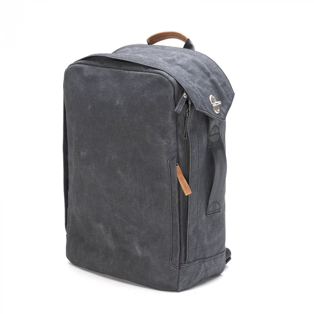 Qwstion Bags Backpack, Washed Black