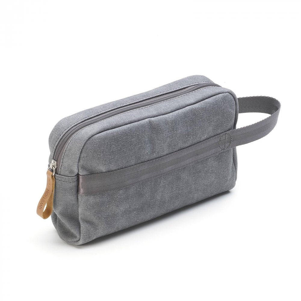 Qwstion Bags Travelkit Washed Grey