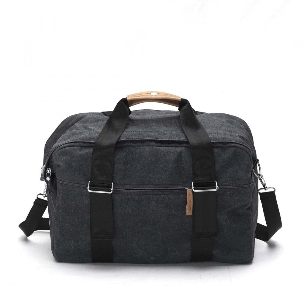 Qwstion Bags Weekender Washed Black