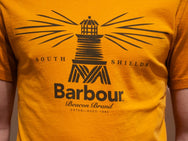Barbour Heritage New Beacon Tee Amber