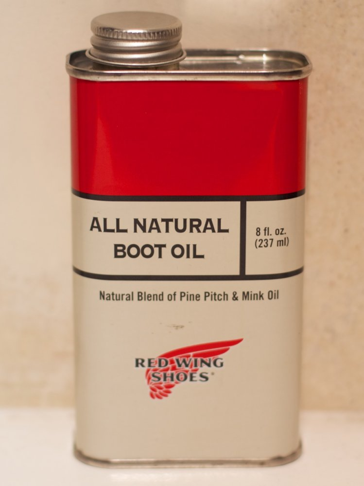 Red Wing Natural Boot Oil