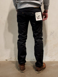 Indigofera Ray Black Gunpowder Selvedge