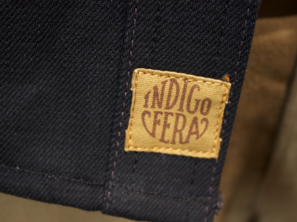 Indigofera Fargo Gunpowder Black
