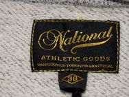 National Athletic Goods Zip Parka Charcoal