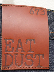 Eat Dust Clothing Jeans Fit 73 Raw Denim