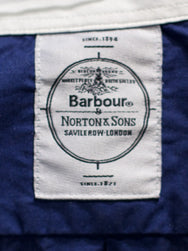 Barbour x Norton & Sons Rathburn Navy