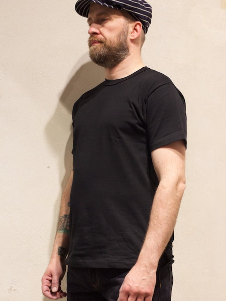 3sixteen Heavy Weight Plain Tee Shirt Black