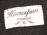 Homespun Knitwear Dad's Undershirt Aged Black
