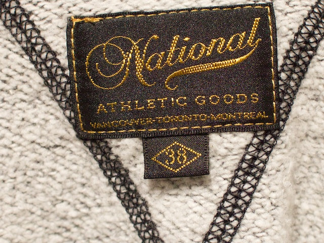 National Athletic Goods Double V Warm Up Black