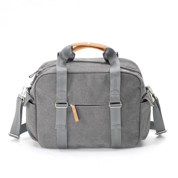 Qwstion Bags Overnighter Washed Grey