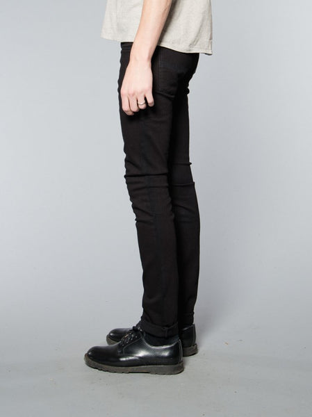 Nudie Jeans Tight Long John Black Black