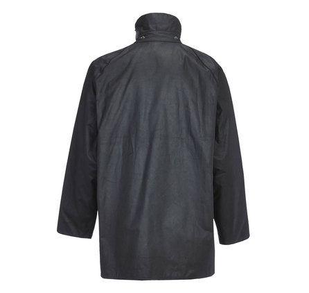 Barbour Classic Beaufort Waxed Jacket Black
