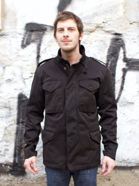 Ten C Field Jacket Nero