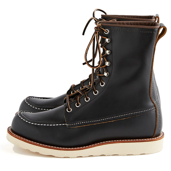 Red Wing 8'' Classic Moc Toe Black Klondike - Billy Boot (8829)