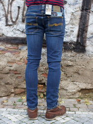 Nudie Jeans Tight Long John Indigo Vision