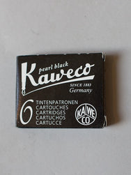 Kaweco Premium Ink Cartridges Pearl Black