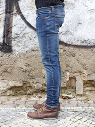Nudie Jeans Skinny Lin Navy Friday Blues