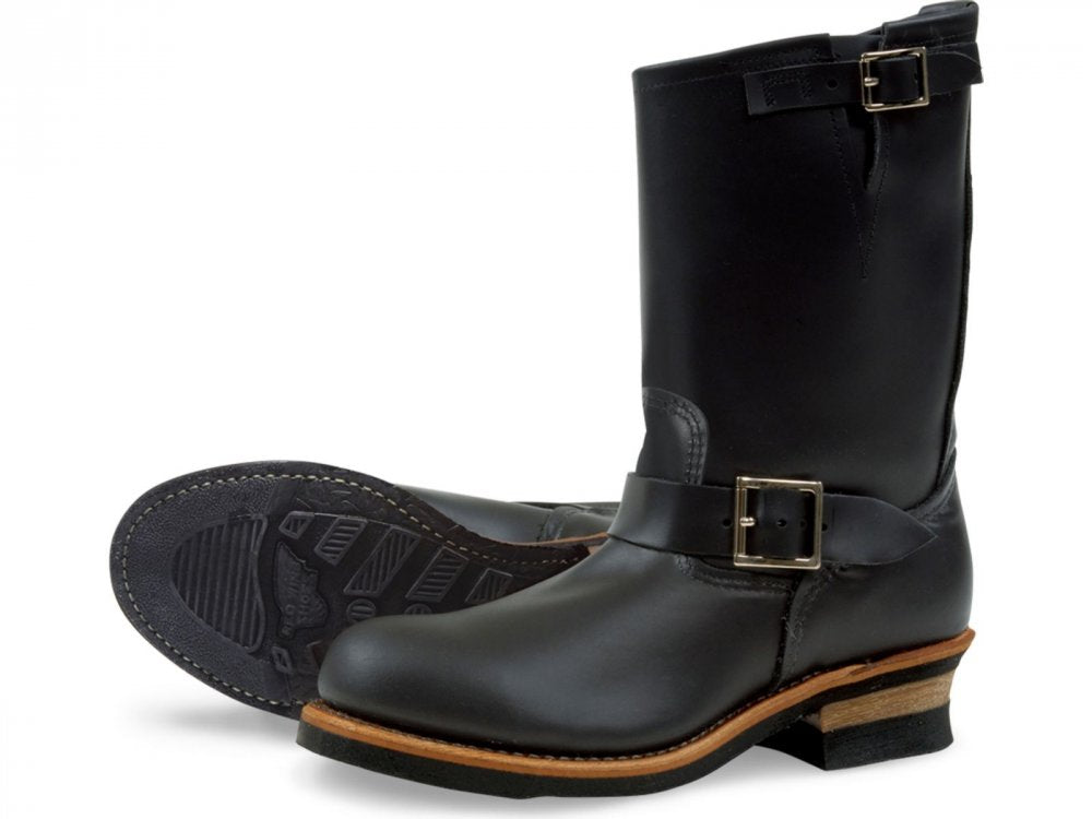 Red Wing Engineer Boot Black Chrome
