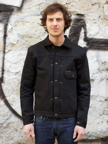 Indigofera Grant Jacket Gunpowder Black