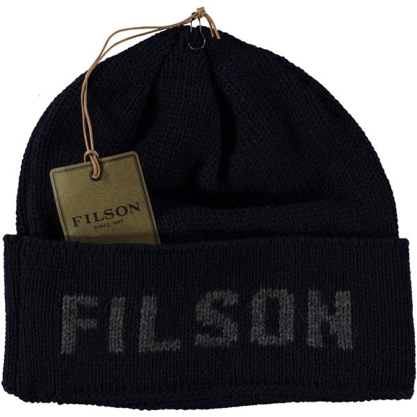 Filson Seattle Hat Navy Gray