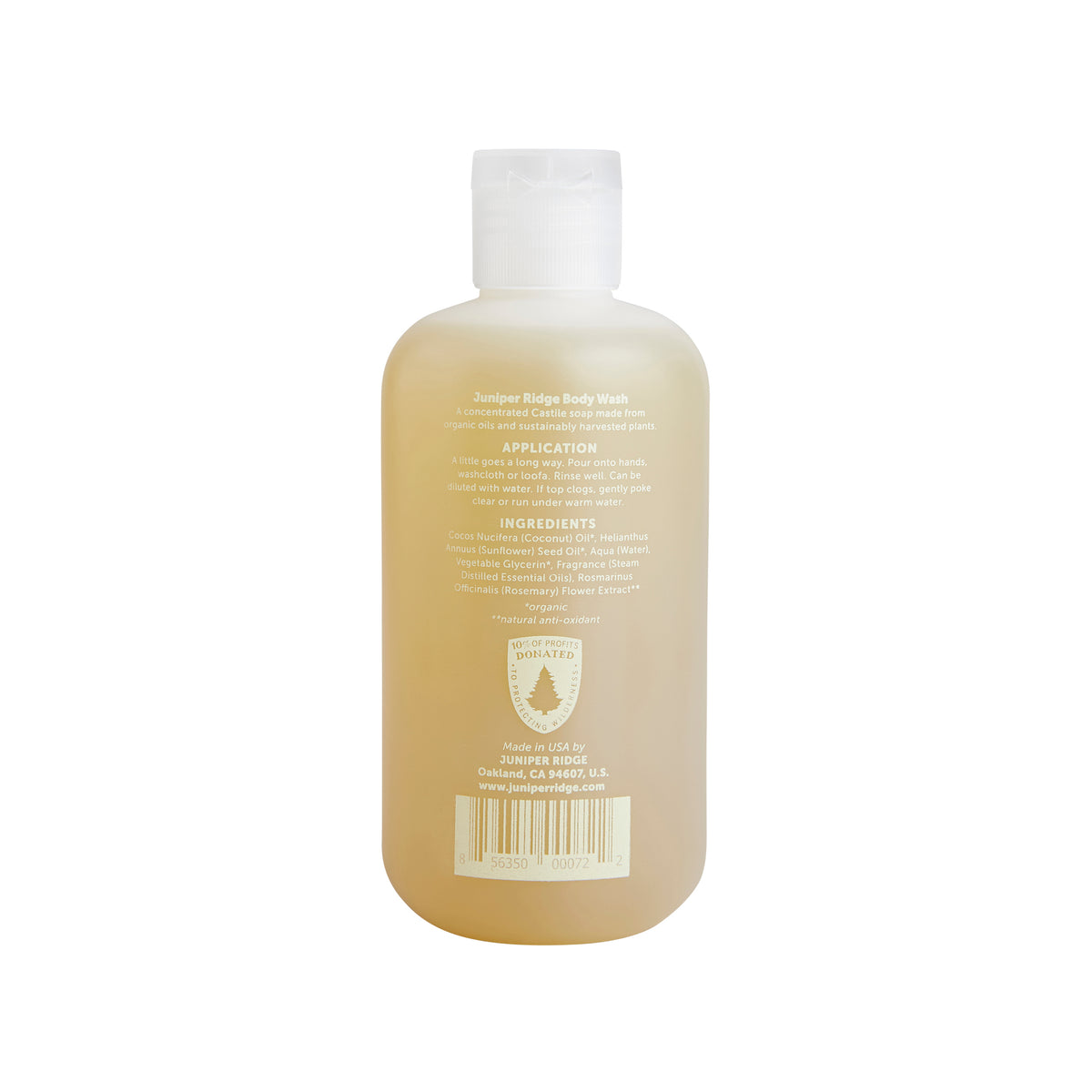 Juniper Ridge Sierra Forest Body Wash – 8oz
