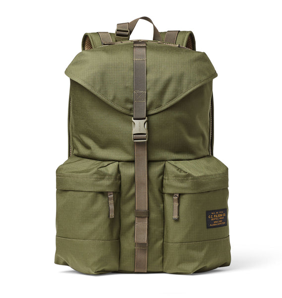 Filson Ripstop Nylon Backpack Surplus Green