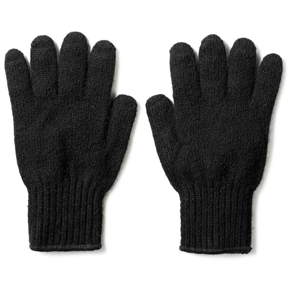 Filson Bison Knit Gloves Black