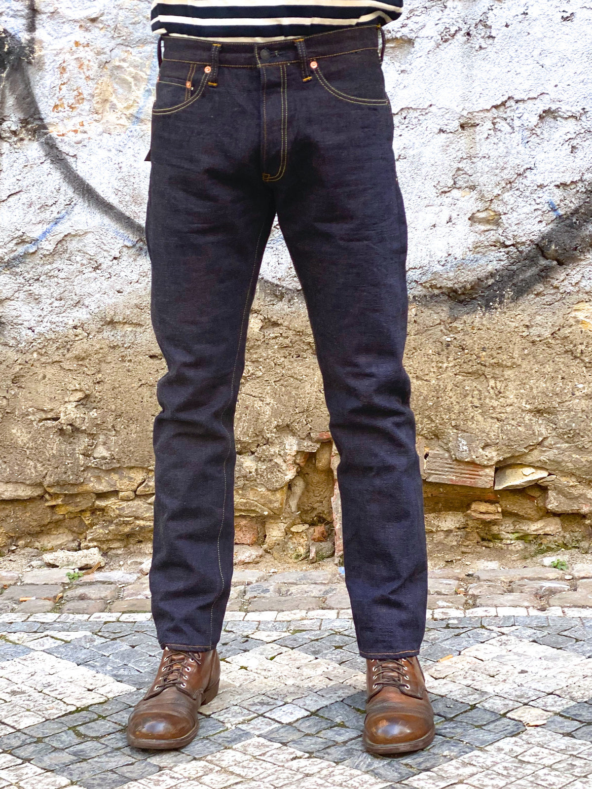 Studio d'Artisan SP-067 Marron 40th Anniversary Jeans