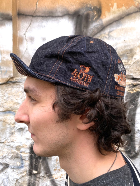 Studio d'Artisan SP-064 40th Anniversary Denim Cap