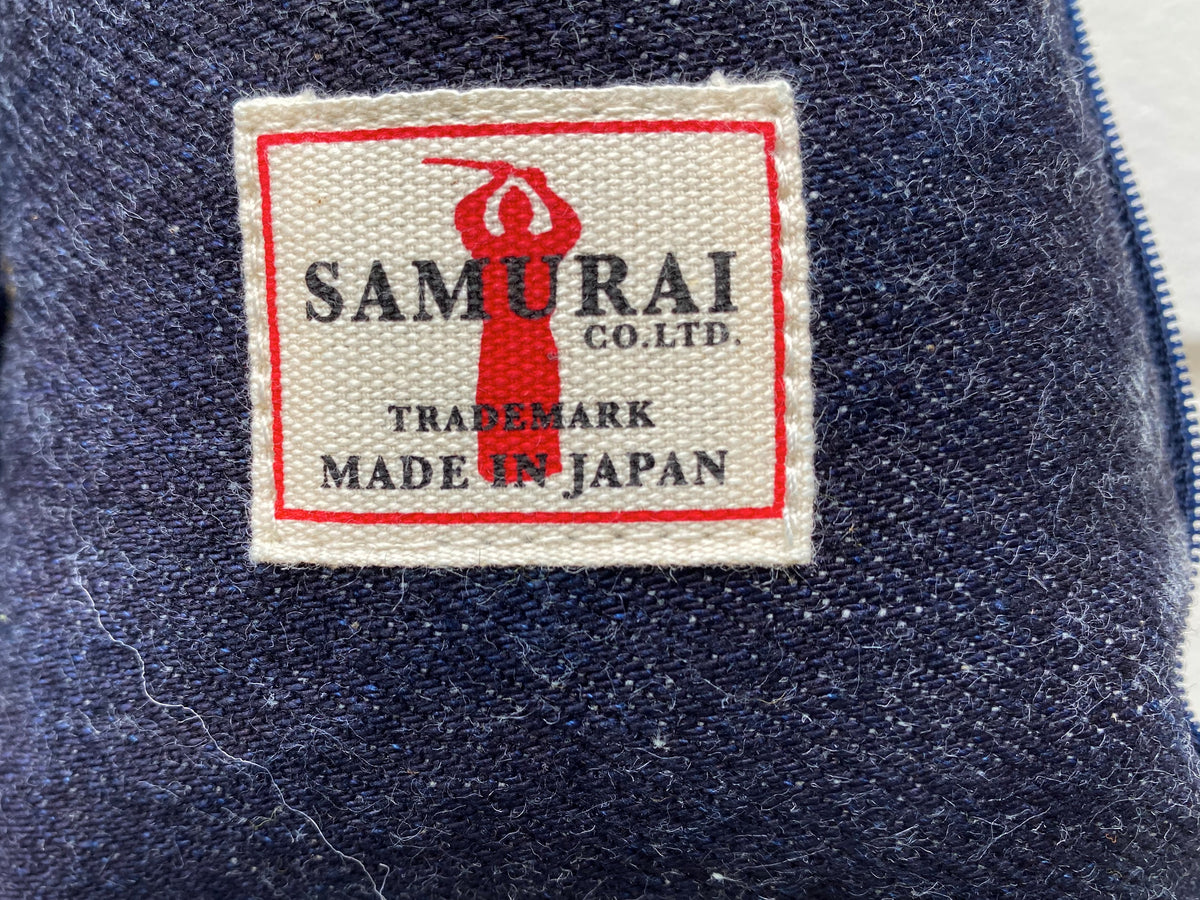 Samurai SJDRC19-II Roll Cushion Denim/Flannel