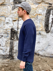 Stevenson Overall WL-NV Wool Thermal LS Navy