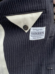 Hansen Garments Anker Blazer Black Pin