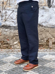 Hansen Garments Ken Trousers 3-Tone Blue
