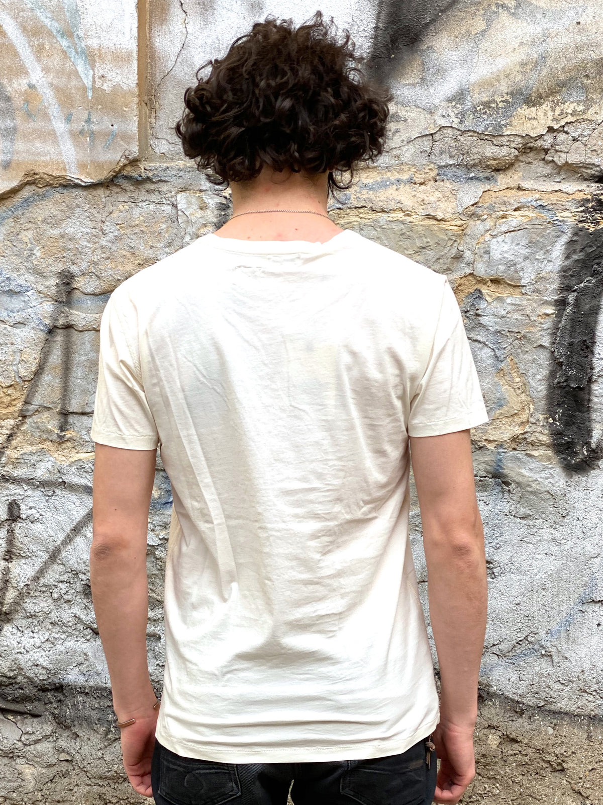 Indigofera Malick Tee Cocatoo White