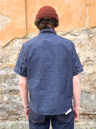 Indigofera Teeter Shirt Military Chambray