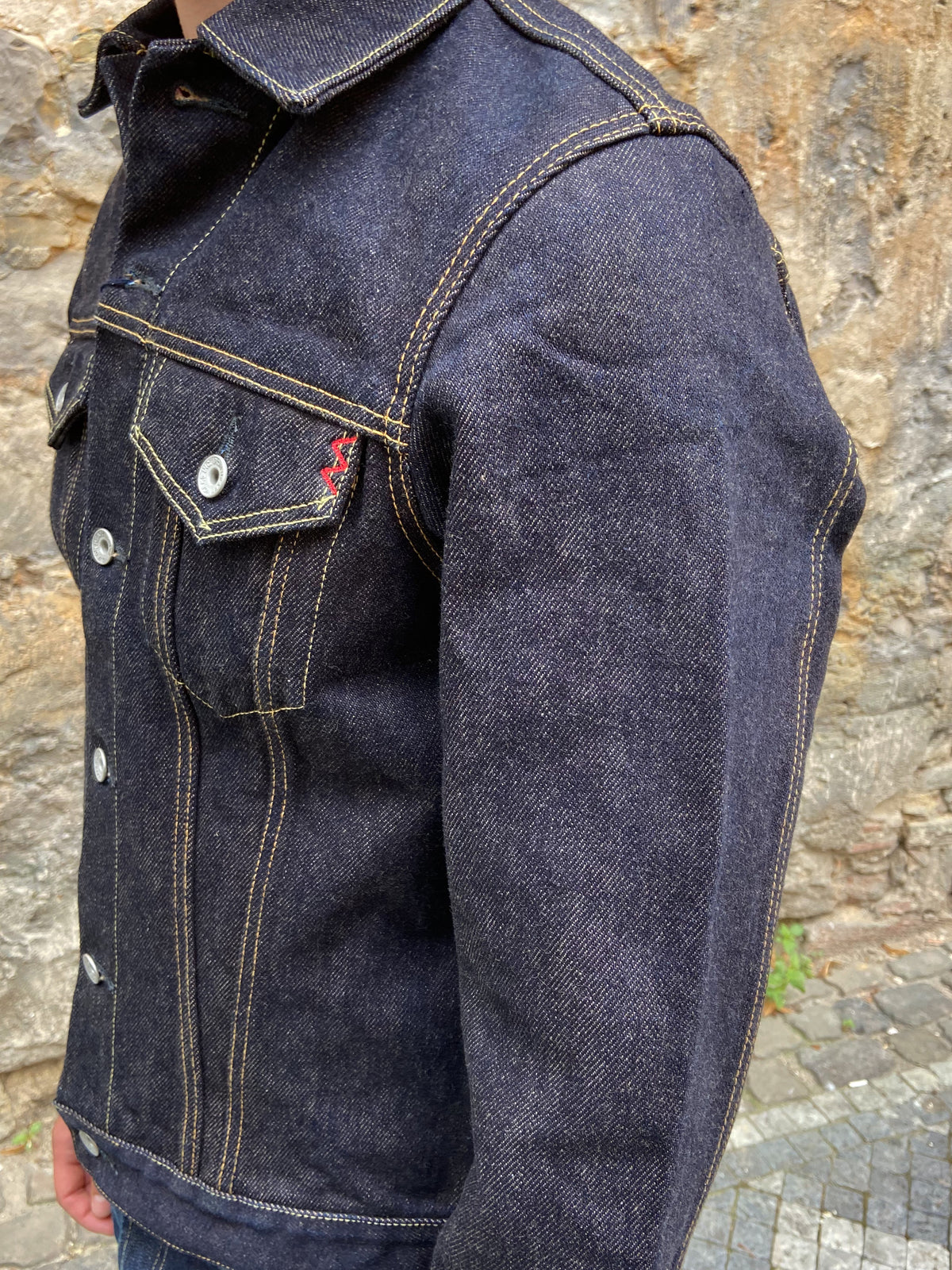 IH-526J-22 22oz Selvedge Denim Type III Jacket - Indigo