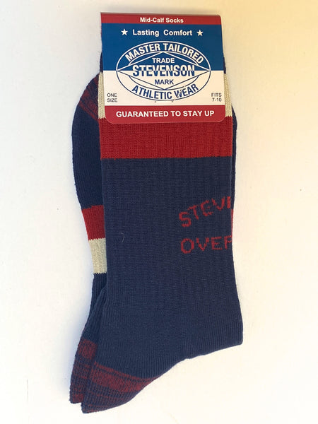 Stevenson Overall AS-NV Athletic Socks Navy