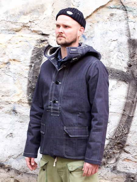Real McCoy's MJ18017 US Navy Denim Parka