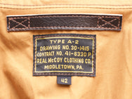 Real McCoy's MJ18101 Type A-2 Real McCoys MFG. Co.
