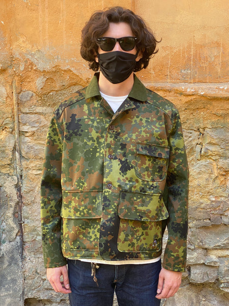 Eat Dust Hunter Jacket Forest Camo