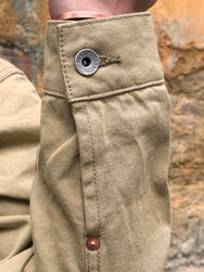Iron Heart IHJ-84-BEI 12oz Selvedge Chino Type II Jacket – Beige