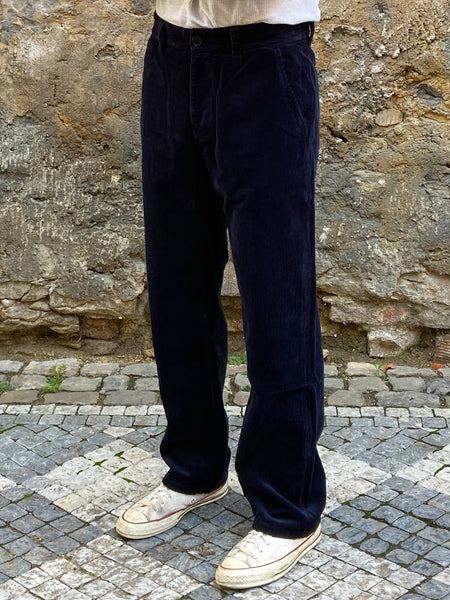 Nudie Jeans Lazy Leo Cord Navy