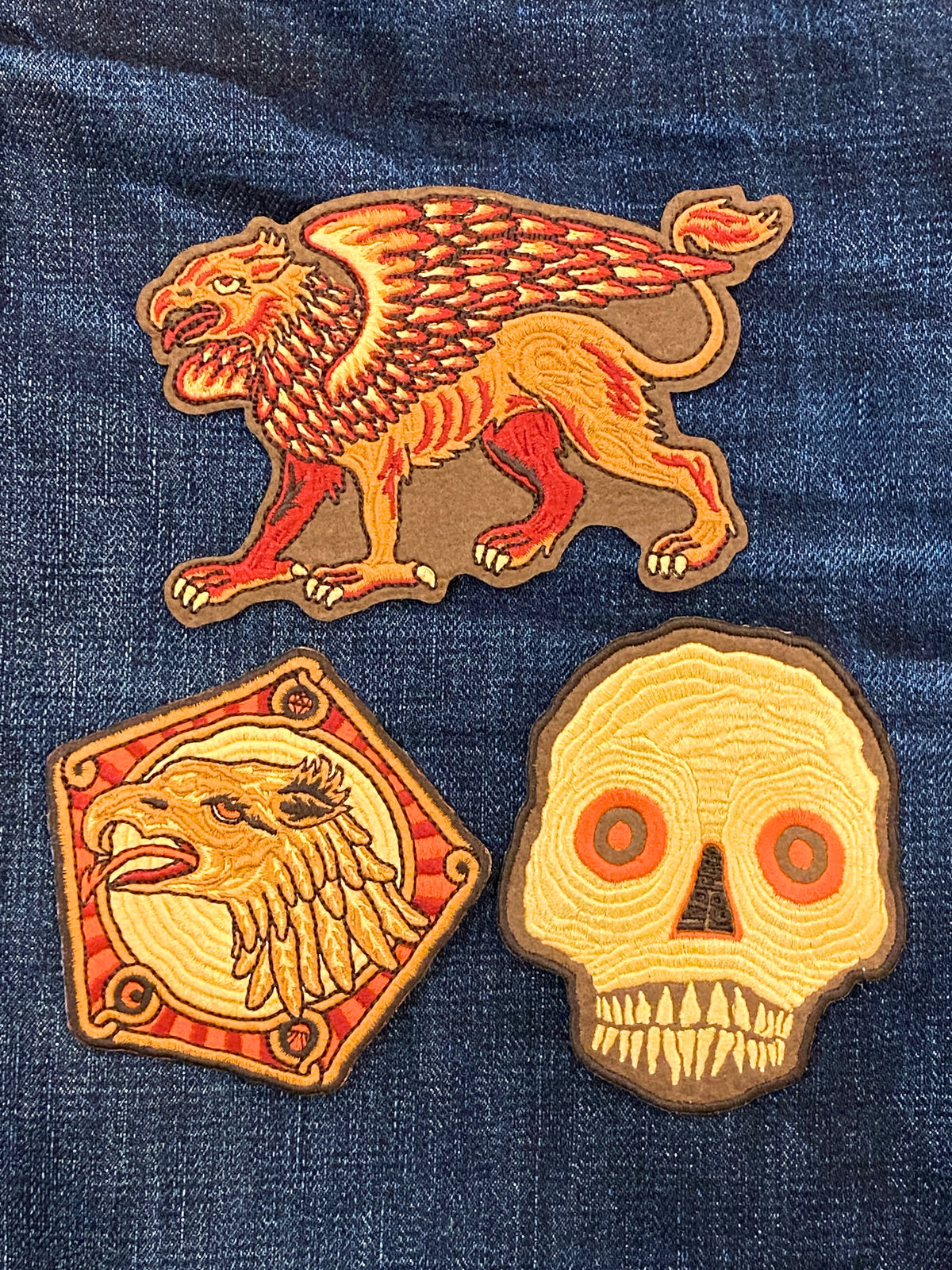 Indigofera x Atldax Patch Set of 3