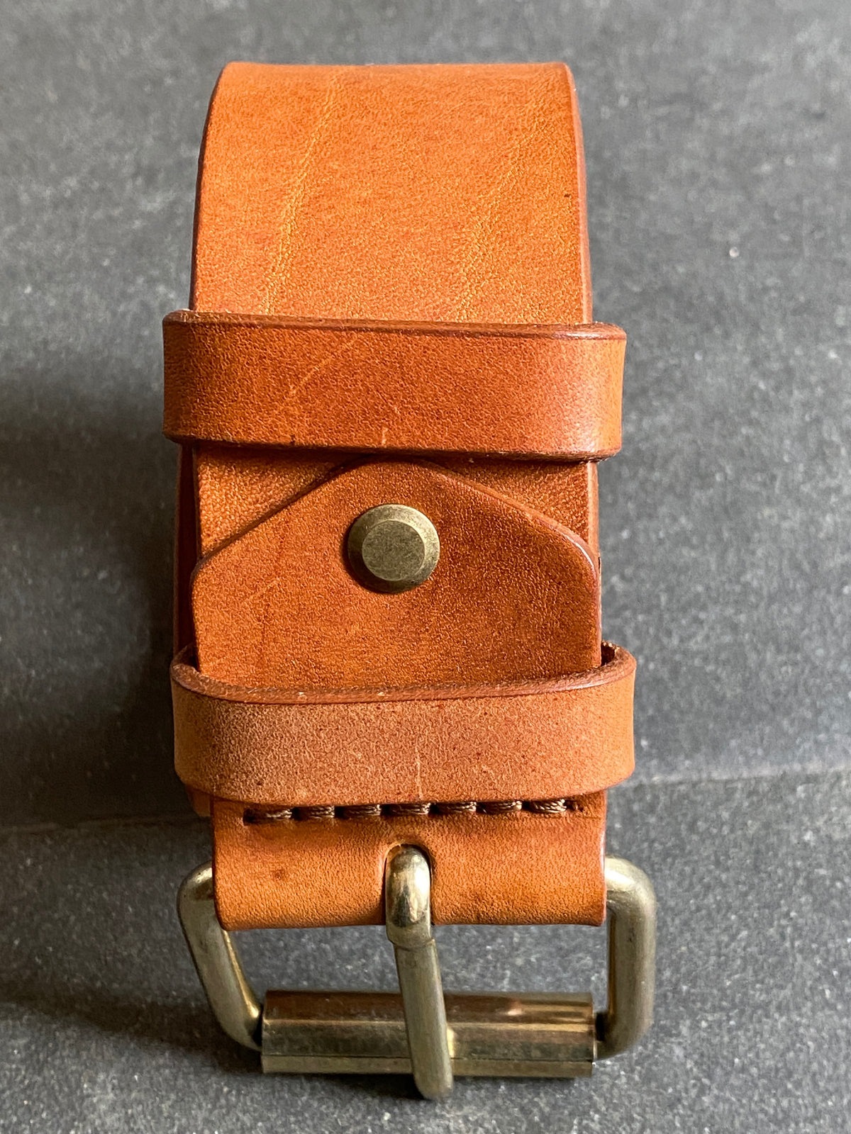 Nudie Jeans Pedersson Leather Belt Cognac