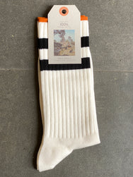 Nudie Jeans Amundsson Sport Socks Dusty White