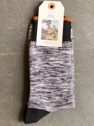 Nudie Jeans Rasmusson Multi Yarn Socks Black